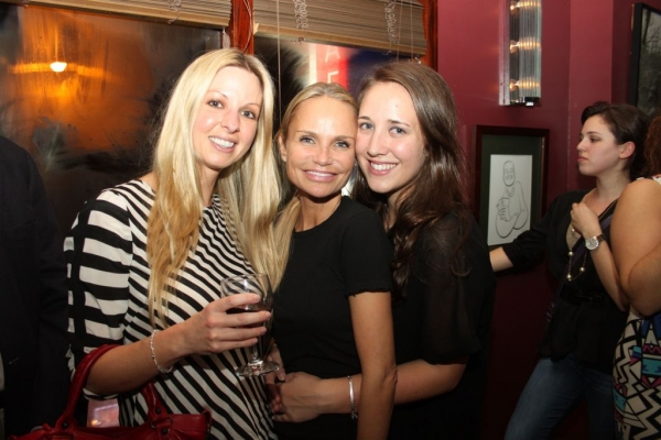 Julie Trussell, Kristin Chenoweth and Amy Shaughnessy