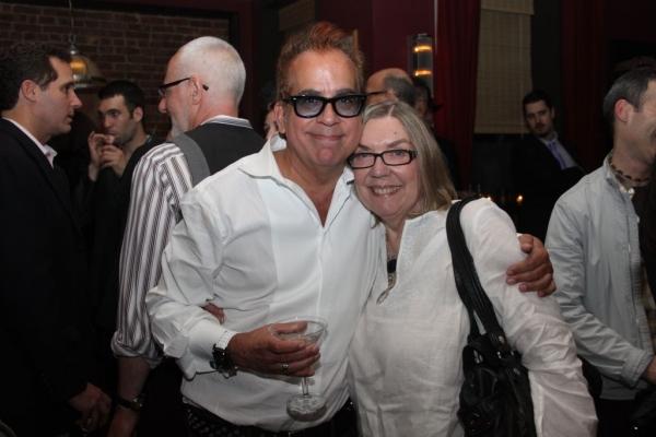 Richard Jay-Alexander and Nancy Carson
