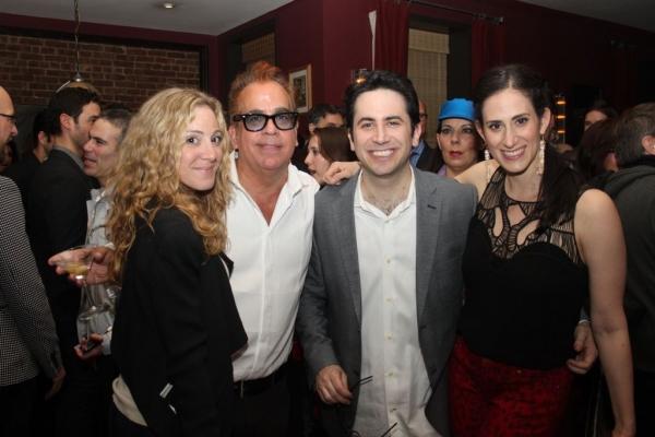Blake Ross, Richard Jay-Alexander, Robert Diamond and Jennifer Diamond