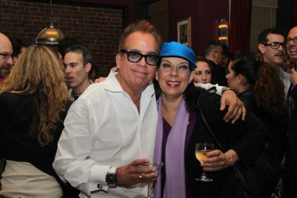 Richard Jay-Alexander and Christine Pedi