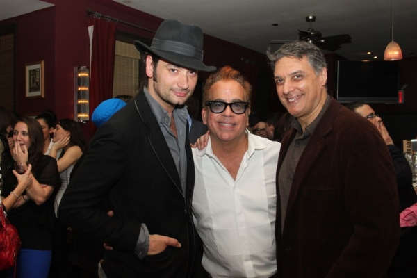 Constantine Maroulis, Richard Jay-Alexander and Robert Cuccioli