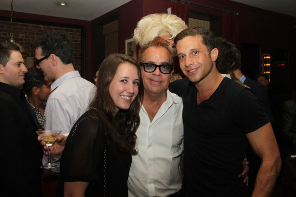 Amy Shaughnessy, Richard Jay-Alexander and Brian Feit  Photo