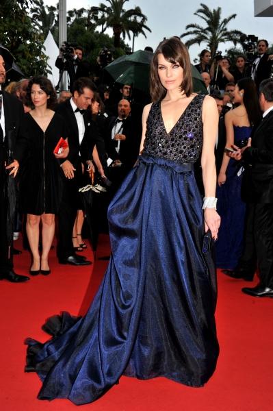 Milla Jovovich at the ''All Is Lost'' film premiere at the 66th Cannes Film Festival (Photo by Camilla Morandi/Rex / Rex USA)