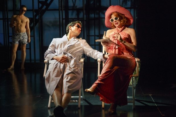 Far From HeavenPlaywrights Horizons/Mainstage TheaterCast List:J.B. AdamsMarinda Ande Photo