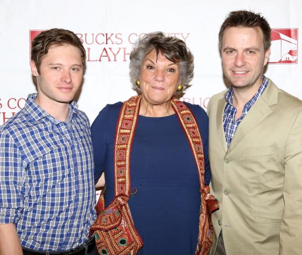 ''Mothers and Sons'' cast members: Bobby Steggert, Tyne Daly & Manoel Felciano