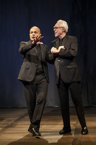 Omar Sangare and John Guare