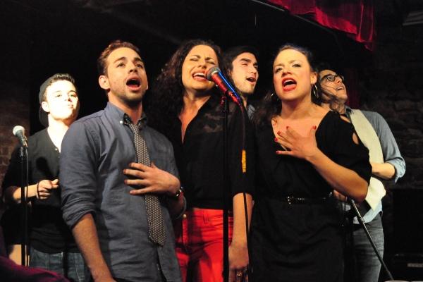 Jorge Barranco, Adrian Ruz, Alesandra Valea, Sean Jones, Sarah Crane and Chris Ramirez