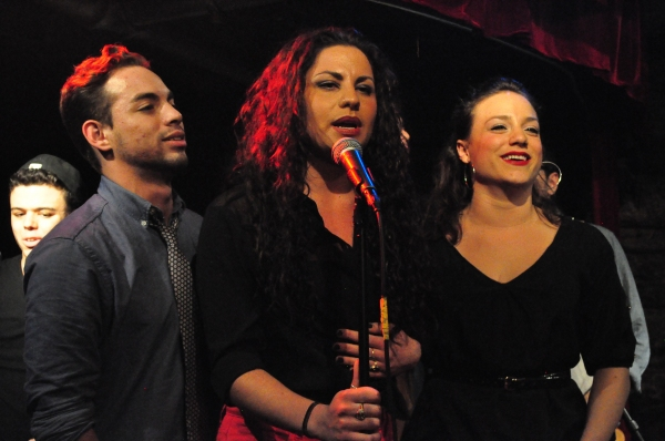 Jorge Barranco, Adrian Ruz, Alessandra Valea and Sarah Crane