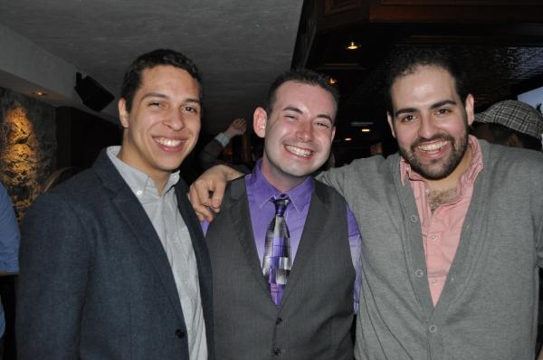 Producer Victor Legra, Director Jay Levy, Producer/Composer David Davila