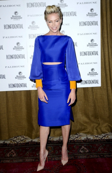 Portia de Rossi at the Los Angeles Confidential Magazine Cover party WEARING ROKSANDA ILINCIC