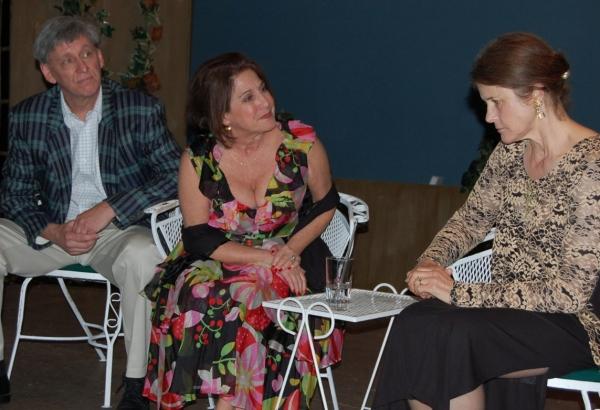 Jim Lesko, Englewood;  Linda Taub, Fort Lee; Dori Persson, Leonia