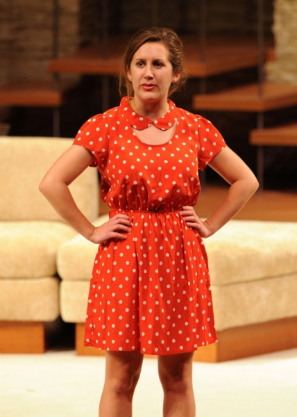 Annika Gullahorn, who won in the category of Outstanding Achievement, Leading Actress in a High School Musical.