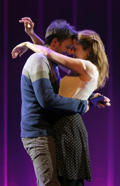 Josh Hamilton and Jenna Fischer
