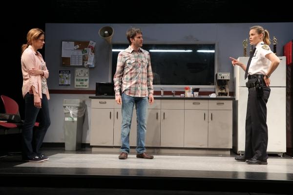Jenna Fischer, Josh Hamilton and Leslie Bibb
