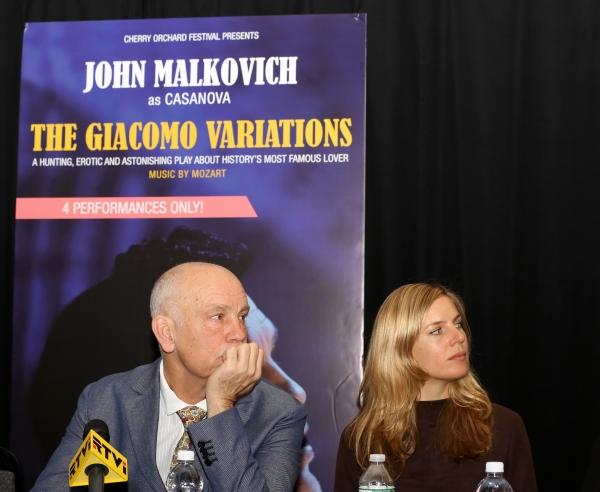 John Malkovich, Sophie Klussmann