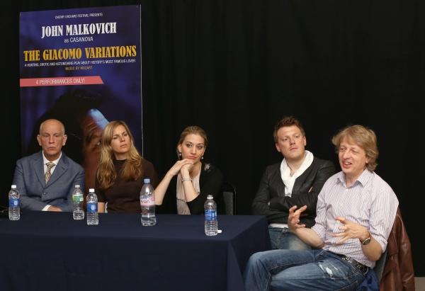 John Malkovich, Sophie Klussmann, Kirsten Blaise, Daniel Schmutzhard and Michael Sturminger