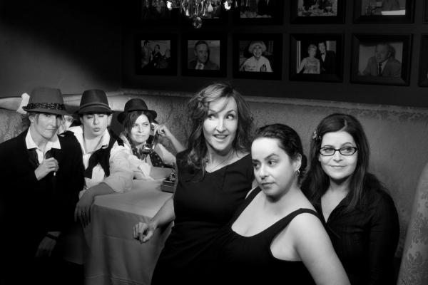 "Comedy group â€Å""The Playboys,â€Â� (L to R) Rachel Mason, Susan Messing and Kate Duffy"