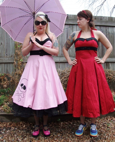 "Comedy Duo �""Feminine Gentleman"", Jill Valentine and Liz McArthur"