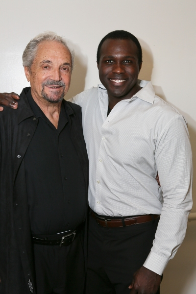 Cast members Hal Linden and Joshua Henry
