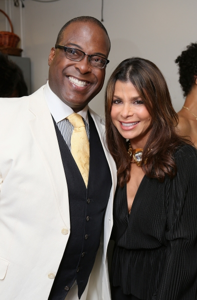 Cast member Trent Armand Kendall and Paula Abdul
