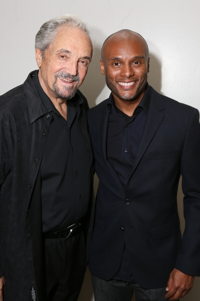 Cast member Hal Linden and actor Kenny Lattimore