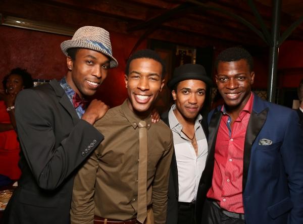 Cast members David Bazemore, Justin Prescott, Clinton Roane and Cedric Sanders Photo