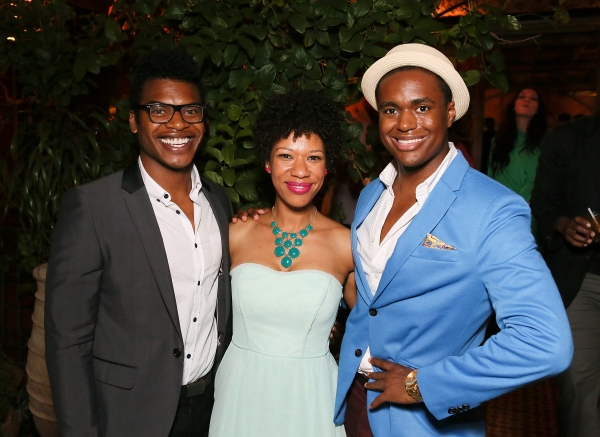Cast members Max Kumangai, Ayanna Berkshire and Shavey Brown