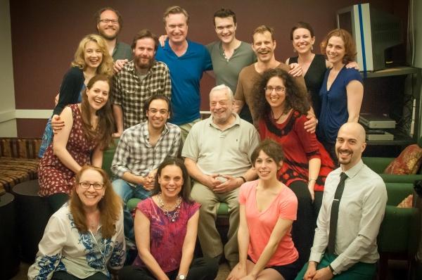 Top Row: Jennifer Mudge (cast), Andy Grotelueschen (glasses, cast), Paul L. Coffey (c Photo