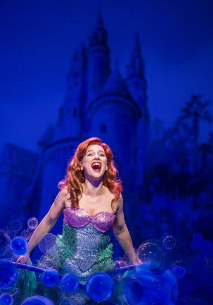 Photo Flash: First Look at Jessica Grove, Nick Adams, Liz McCartney, Alan Mingo Jr. and More in Paper Mill's THE LITTLE MERMAID!