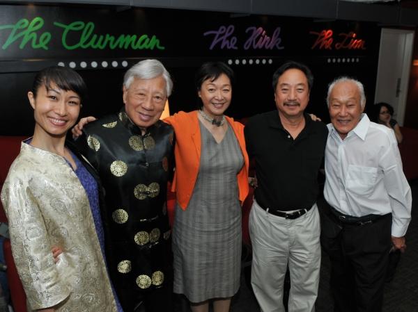 Rumi Oyama, Wally Wong, Tisa Chang, Ron Nakahara, Tom Matsusaka Photo