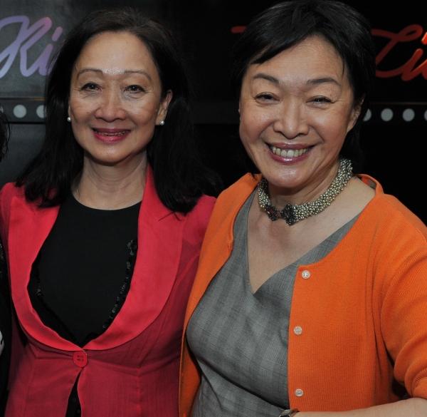 Tina Chen and Tisa Chang Photo