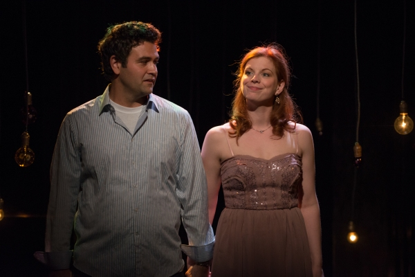 Frank (Brian King) and Marnie (Darci Nalepa) in The Drunken City
