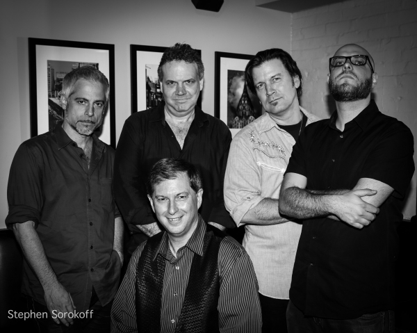 Sean Harkness, Music Director, Ted Kooshian, Skip Ward, Rob Mitzner, Stephen Hanks Photo