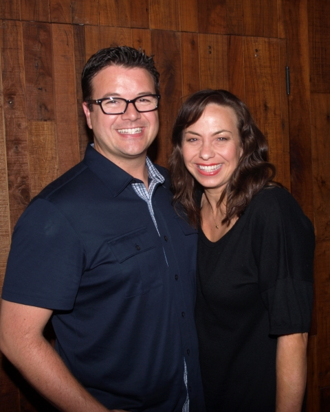 Troy Magino and Darcie Roberts Photo