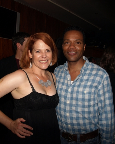 Bets Malone and Musical Director Darryl Archibald  Photo