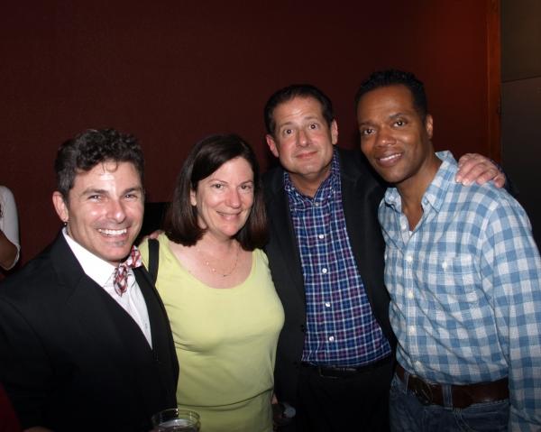 Nick DeGruccio, Serena Wilkenfeld, Lewis Wilkenfeld, and Darryl Archibald  Photo