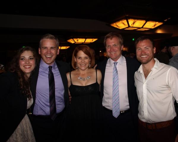 Tessa Grady, Robert J. Townsend, Bets Malone, Tom McCoy, and Keith A. Bearden  Photo