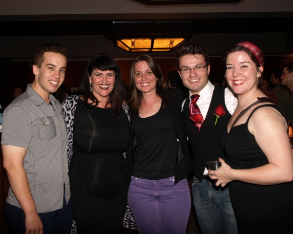 Kelli Provart, Gretchen Dawson, Jon M. Wailin, and Caitlin Humphreys  Photo