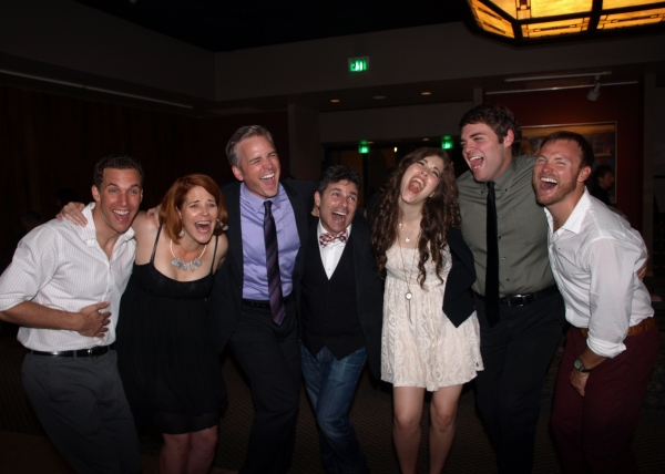 The cast with Director Nick DeGrucio