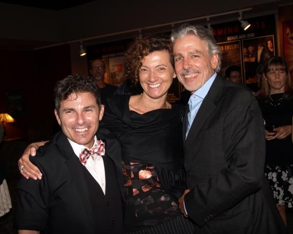 Nick DeGruccio, Michael Arabian, and friend