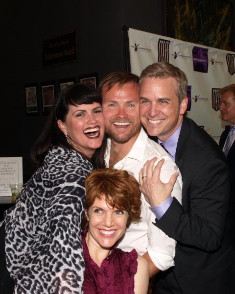 Kelli Provart, Sabrina Miller, Keith A. Bearden, and Robert J. Townsend  Photo