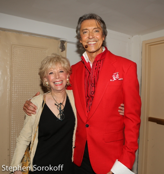 Leslie Stahl & Tommy Tune