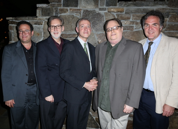 Michael Greif, Michael Korie, Scott Frankel, Richard Greenberg, Tim Sanford