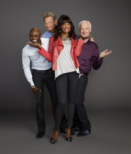 Wayne Brady, Ryan Stiles, Aisha Tyler, Colin Mochrie Photo