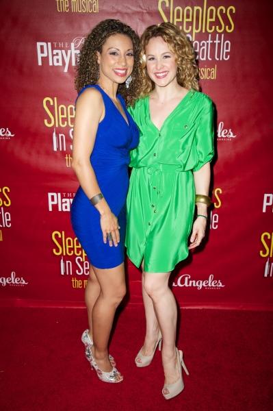 Sabrina Sloan and Chandra Lee Schwartz Photo