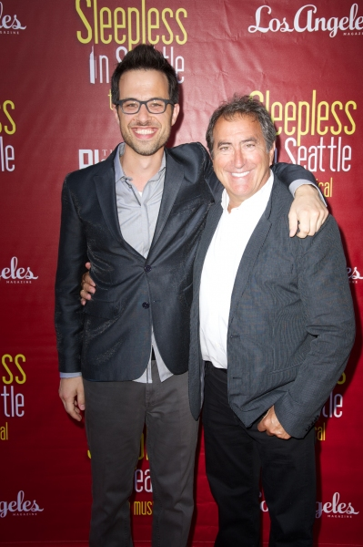 Ben Toth and Kenny Ortega Photo