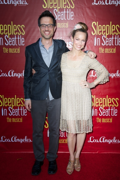 Ben Toth and Melora Hardin Photo