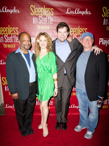 Sheldon Eppes, Chandra Lee Schwartz, Tim Gleason and Jeff Arch