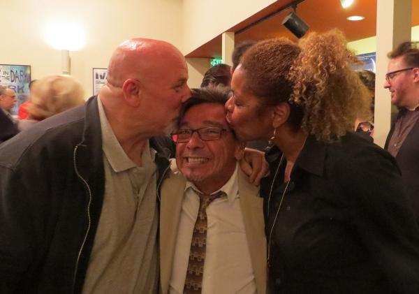 Musical director Gerald Sternbach, Bill Castellino, Roxanne Mayweather