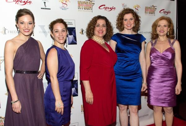 Laura Osnes, Sarah Bierstock, Mary Testa, Christiane Noll, Anna Bergman Photo